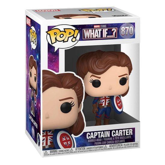Figúrka Marvel: What If...? - Captain Carter (Funko POP! Marvel 870)