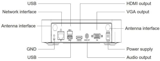 Uniview KIT - 1x NVR301-04LB-P4 + 4x IPC322SR3-VSF28W-D KIT/NVR301-04LB-W/4*322SR3-VSF