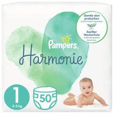 Pampers pieluchy Harmonie Rozmiar 1, 50 szt., 2kg-5kg