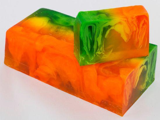 L´Cosmetics Prírodné ručne robené mydlo bez SLS - Ibiza Drive (inšpirované Hugo Boss - Boss Woman) 100g +/-6%