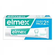 Elmex Zubní pasta Sensitive Plus 2ks
