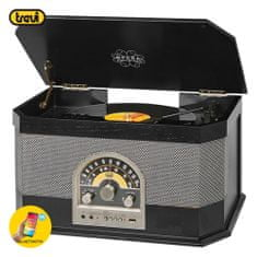 Trevi TT 1040 BT gramofon, črn