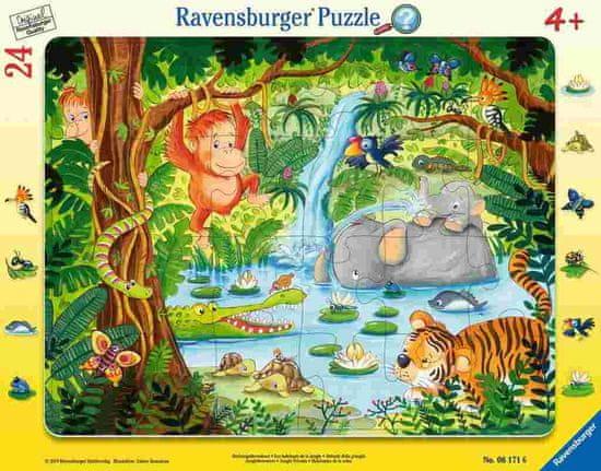 Ravensburger slagalica Džungla, 24 dijela (6171)
