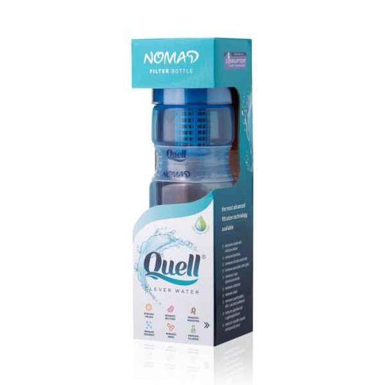 quell Fľaša na filtrovanie vody Nomad 700ml - modrá