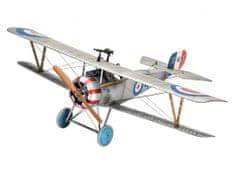 Revell Nieuport 17 model lovskega letala, set za sestavljanje, 1:48