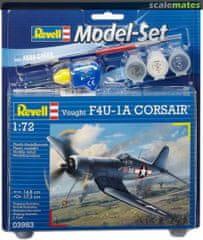 Revell Vought F4U-1D CORSAIR model lovskega letala, set za sestavljanje, 1:72