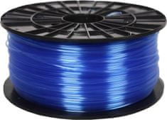 Plasty Mladeč tisková struna (filament), PETG, 1,75mm, 1kg F175PETG_TBL, transparentné modrá