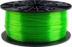 Plasty Mladeč tisková struna (filament), PETG, 1,75mm, 1kg F175PETG_TGR, transparentné zelená
