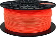 Plasty Mladeč tisková struna (filament), PLA, 1,75mm, 1kg, fluorescenční oranžová F175PLA_FO