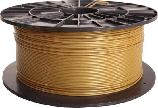 Plasty Mladeč tisková struna (filament), PLA, 1,75mm, 1kg F175PLA_GO, zlatá