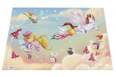 Herma podloga za stol, 55 x 35 cm, Fairy Dance