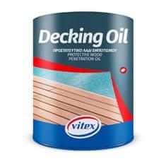 Vitex Decking oil (5 litrů) - ochranný penetrační olej pro terasy, pergoly, podlahy či ploty