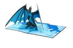 Magic Moments 3D přání Ledový drak