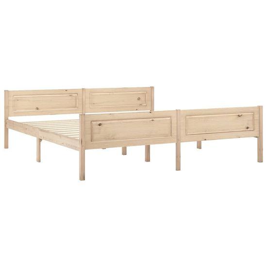 shumee Rama łóżka z litego drewna sosnowego, 180 x 200 cm