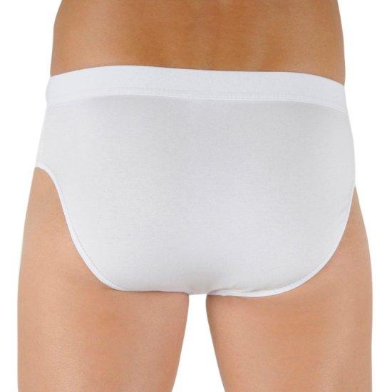 Cornette Pánské slipy Authentic bílé (221)