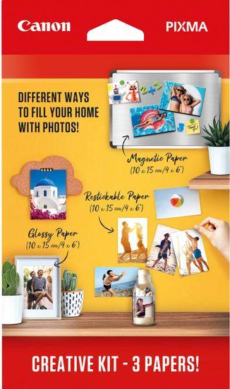 Canon Foto papier PIXMA Creative Kit 2 - MG-101 + RP-101 + PP-201 (3634C003)