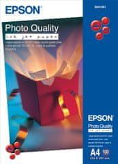 Epson Foto papier Photo Quality InkJet, A4, 100 ks, 100g/m2, matný (C13S041061)