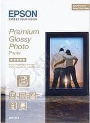 Epson Foto papier Premium Glossy, 13x18 cm, 30 listů, 255g/m2, lesklý (C13S042154)
