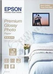 Epson Foto papier Premium Glossy, A4, 15 ks, 255g/m2, lesklý (C13S042155)
