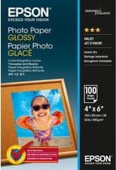 Epson Foto papier Paper Glossy, 10x15 cm, 100 listů, 200g/m2, lesklý (C13S042548)
