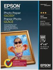 Epson Photo Paper Glossy, 10x15 cm, 500 listov, 200g/m2, lesklý (C13S042549)