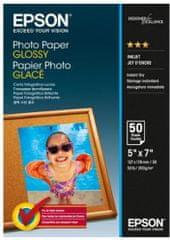 Epson Photo Paper Glossy, 13x18 cm, 50 listov, 200g/m2, lesklý (C13S042545)