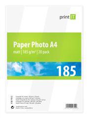 Print IT Paper Photo A4 185 g/m2 Mate 20ks (PI-84)