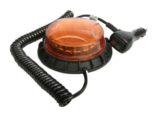 MULTIPA Maják oranžový 33 LED 10 - 30 V, 7 funkcií, MULTIPA