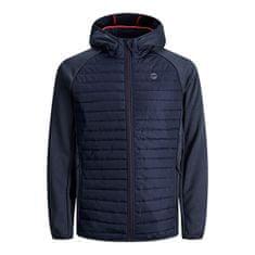 Jack&Jones Plus Moška jakna JJEMULTI 12182318 Navy Blaze r (Velikost 4XL)