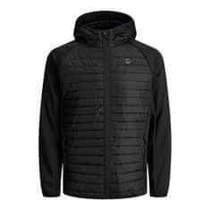 Jack&Jones Plus Moška jakna JJEMULTI 12182318 Black (Velikost 4XL)