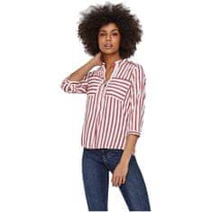 Vero Moda Ženska bluza VMERIKA STRIPE 3/4 SHIRT (Velikost XS)