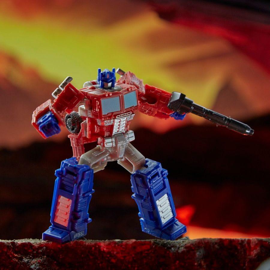 Transformers GEN WFC Kingdom Core figurka – Optimus Prime