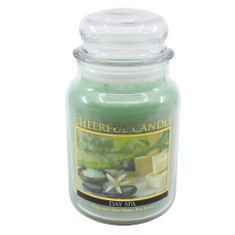 Cheerful Candle DAY SPA 24 OZ