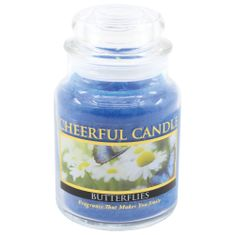 Cheerful Candle BUTTERFLIES 24 OZ