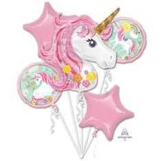 Amscan Fóliový balónek Unicorn