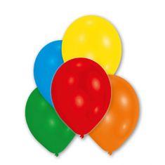 Amscan 10 latexových balónků metalické, barevné 27,5 cm