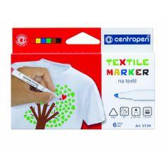 Centropen značkovač 2739/6 na textil