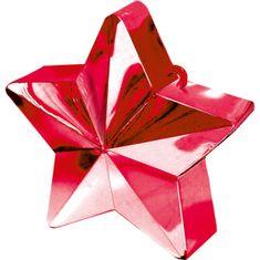 Amscan Závaží pro balónek hvězda červená