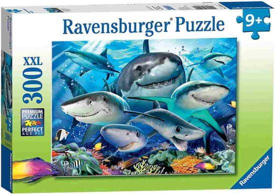 Ravensburger slagalica Smiješni morski psi, 300 komada