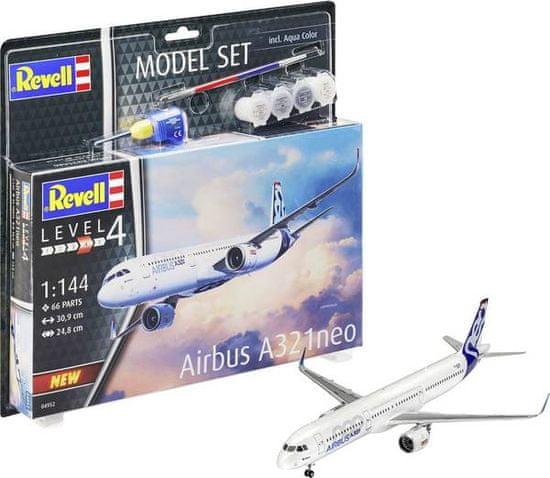 Revell Airbus A321 Neo model letala, set za sestavljanje, 1:144
