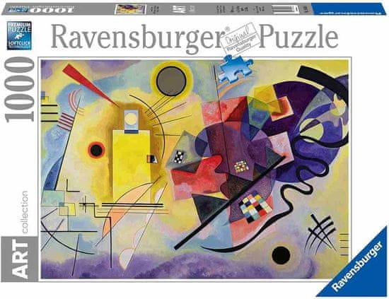 Ravensburger slagalica Kandinsky: yellow, red, blue, 1000 dijelova (14848)
