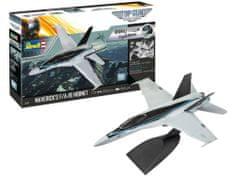 """Revell F/A-18 Hornet """"Top Gun"""" model letala, set za sestavljanje, 1:72"""
