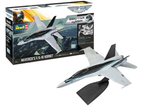 """Revell F/A-18 Hornet """"Top Gun"""" model zrakoplova, montažni set, 1:72"""