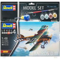 Revell Albatros DIII model letala, set za sestavljanje, 1:48