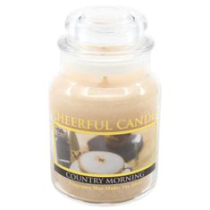Cheerful Candle COUNTRY MORNING 6 OZ