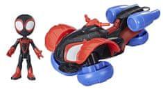 Spiderman SAF figurica z vozilom - Techno Racer