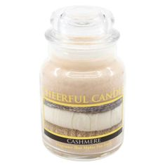 Cheerful Candle CASHMERE 6 OZ