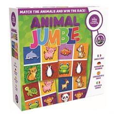Happy puzzle comp. Predškoláci - tréning logiky - ANIMAL JUMBLE