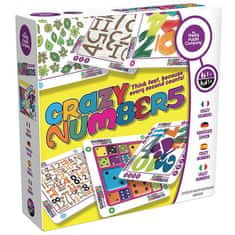 Happy puzzle comp. Školáci - hra s číslami - CRAZY NUMBERS