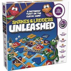 Happy puzzle comp. NOVÁ rodinná stolová hra - SNAKES AND LADDERS UNLEASHED